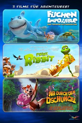Abenteurer-Box - (Fischen Impossible, Prinz Ribbit, Ab durch den Dschungel)