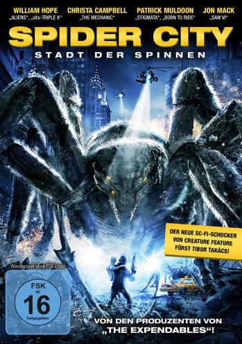 Spider City - Creature Feature Selection