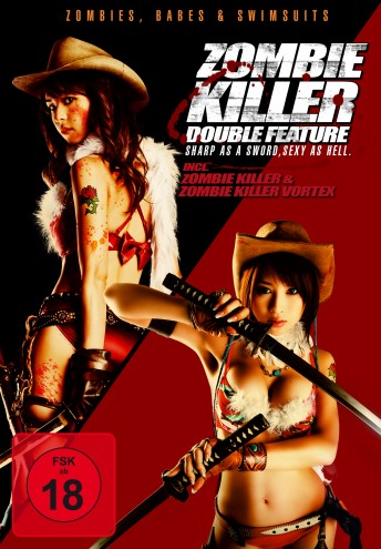 Zombie Killer Double Feature - Sharp As A Sword, Sexy As Hell.
