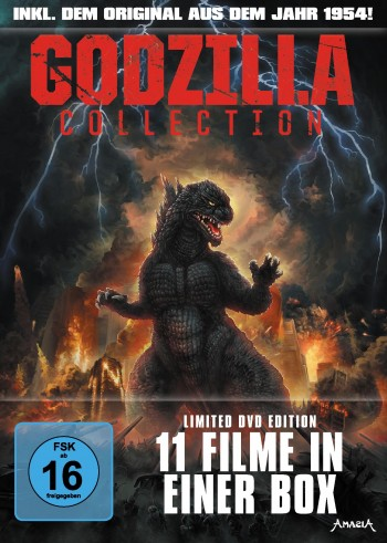 The Godzilla Collection - Limited DVD Edition - LTD.