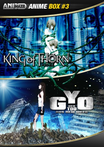 Anime Box 3 Gyo, King of Thorn