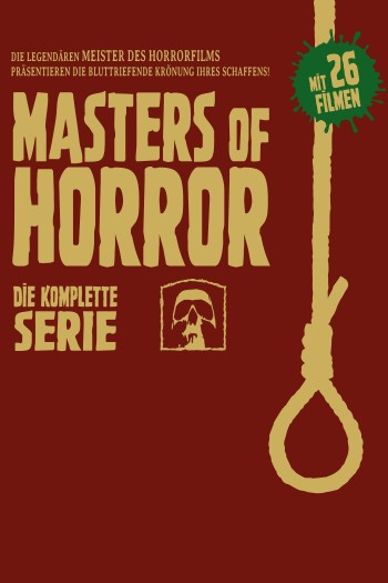 Masters of Horror Big Box Staffel 1+2 LTD.