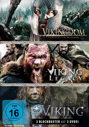 Wikinger-Box: Viking, Vikingdom & Viking Legacy