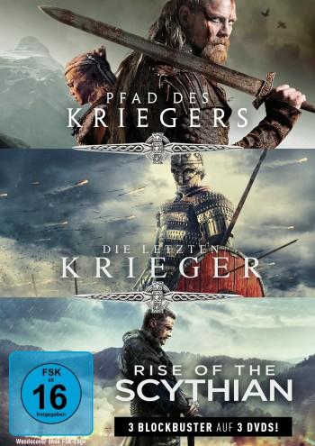 Krieger-Box: Pfad des Kriegers, Die letzten Krieger & Rise of the Scythian