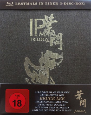 IP MAN Trilogy - Limited 3-Disc Edition
