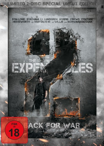 The Expendables 2 - Back For War - Uncut Version LTD.
