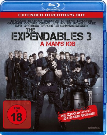 The Expendables 3 - A Man's Job  - Extended Director's Cut - Dolby Atmos