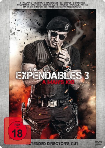 The Expendables 3 - A Man's Job  - Extended Director's Cut - Limited Steelbook