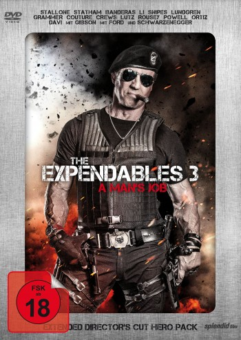 The Expendables 3 - A Man's Job  - Extended Director's Cut - Limited Hero Pack