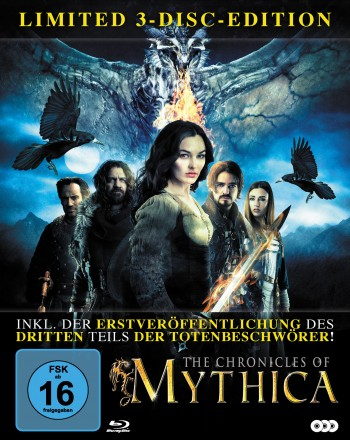 The Chronicles of Mythica  - LTD. Digipak im Schuber