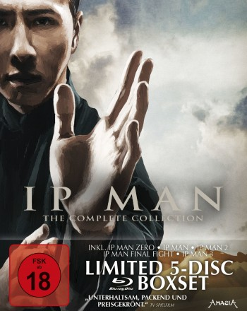 Ip Man - The Complete Collection - Limitiertes 5-BD-Digipak im Hardcoverschuber