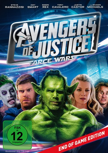 Avengers of Justice: Farce Wars - End of Game Edition