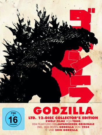 Godzilla Ltd. 12-Disc Collector's Edition LTD.