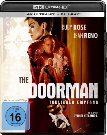 The Doorman – Tödlicher Empfang - 4K Ultra HD + Blu-ray